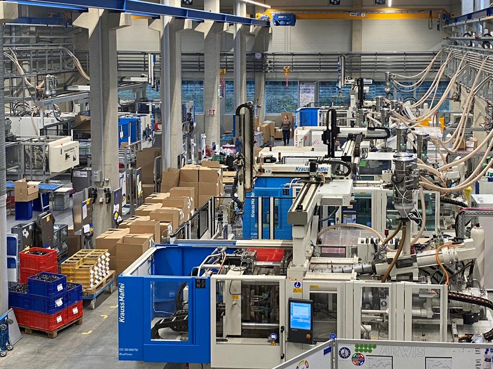 Neue Produktionshalle – neue Herausforderungen